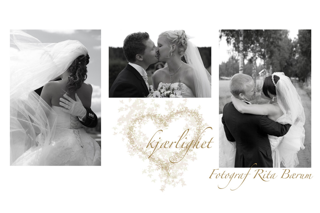 Bildet fra Booking av bryllupsfotograf - kyss