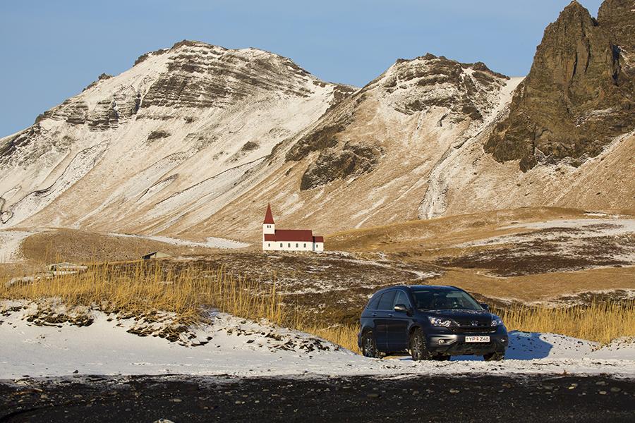 Bilde fra Island - Kirken ved Vik