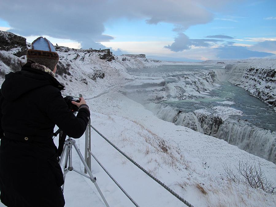 Bilde fra Island - Gullfoss