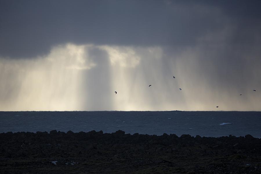 Bilde fra Island - spennende lysforhold
