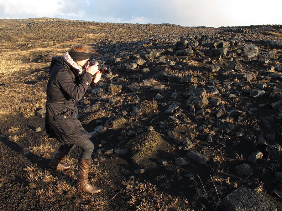 Bilde fra Island - lavadekket landskap