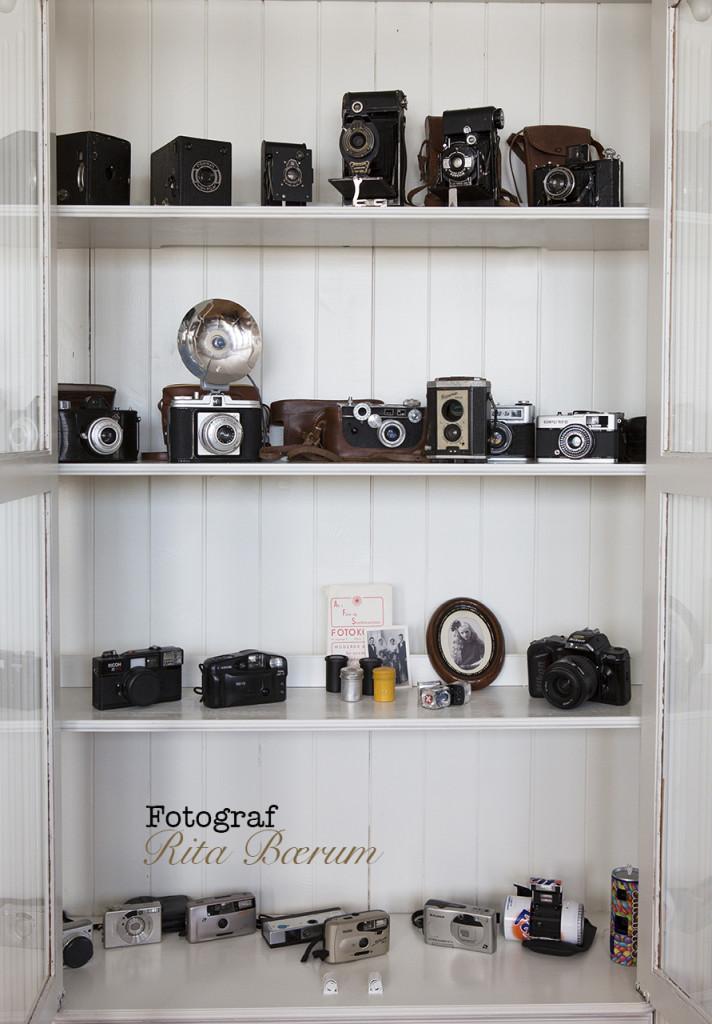 Gamle kameraer har representert menneskenes fremskritt innenfor teknologi