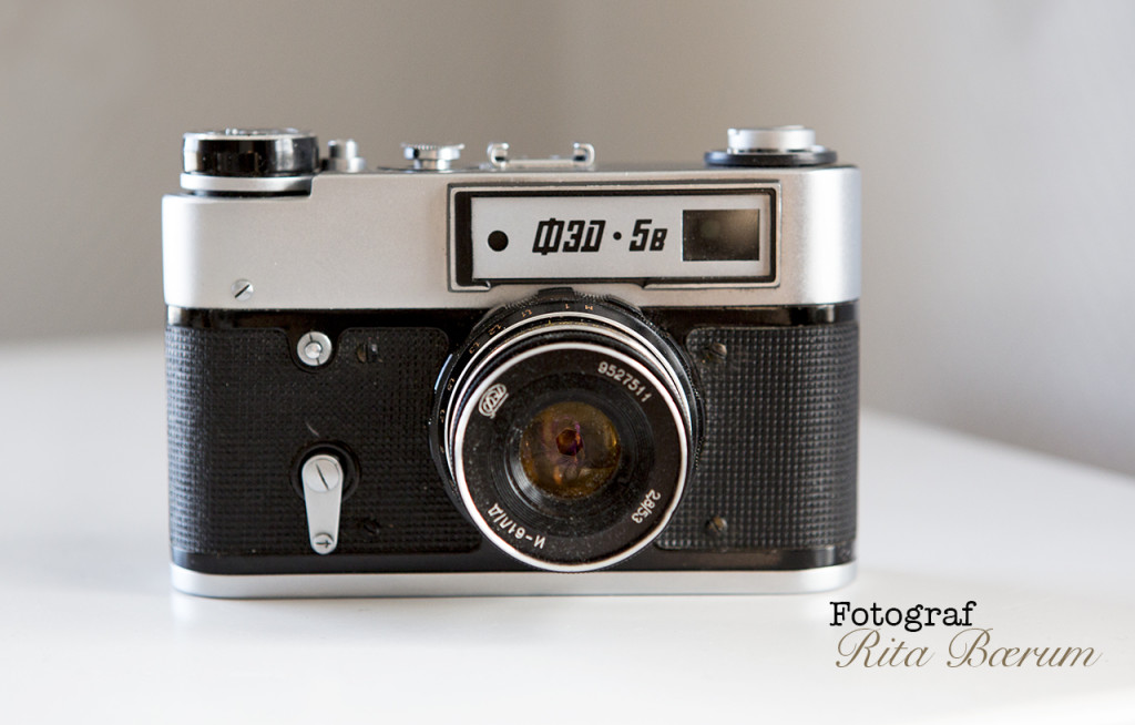 Gamle kameraer - FED-5B