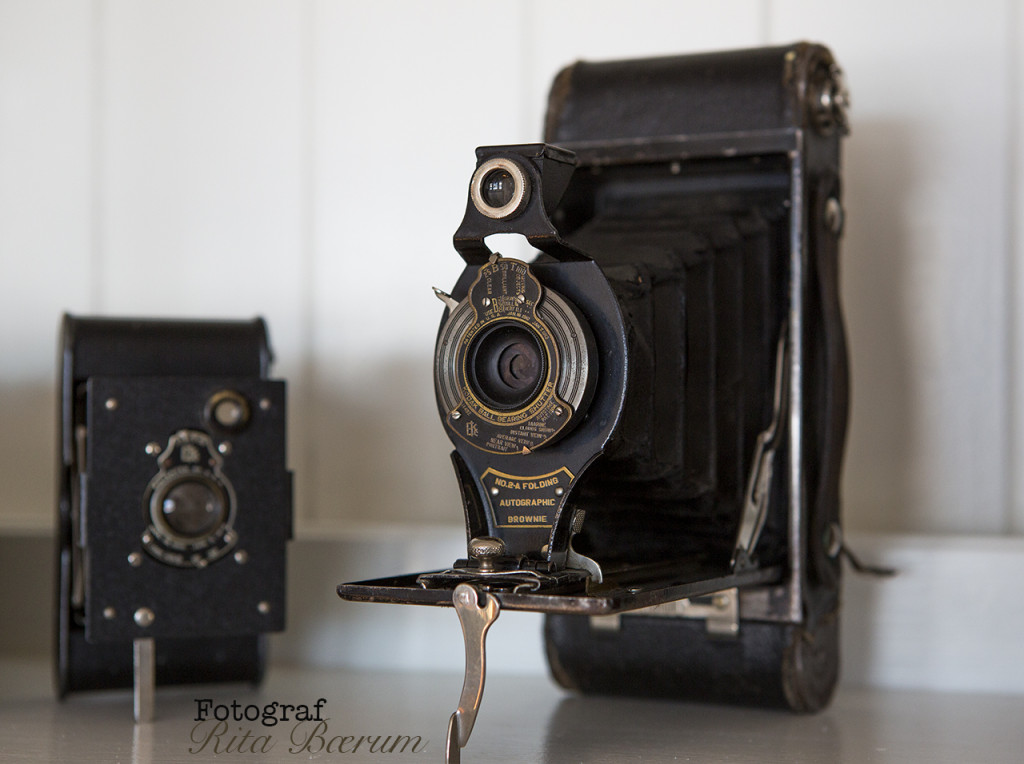 Gamle kameraer - Vest Pocket Folding Kodak No. A-127