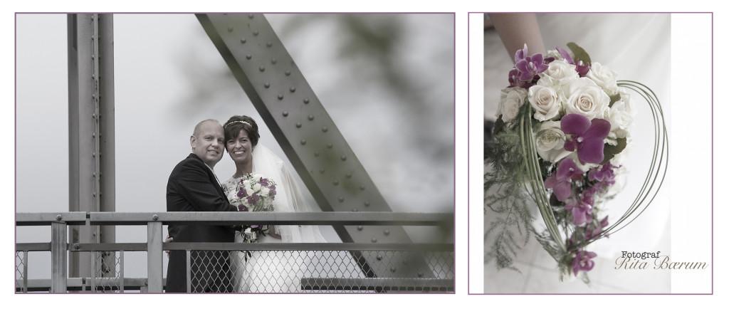 Bildet i Bryllupstips fra bryllupsfotografen - på broa