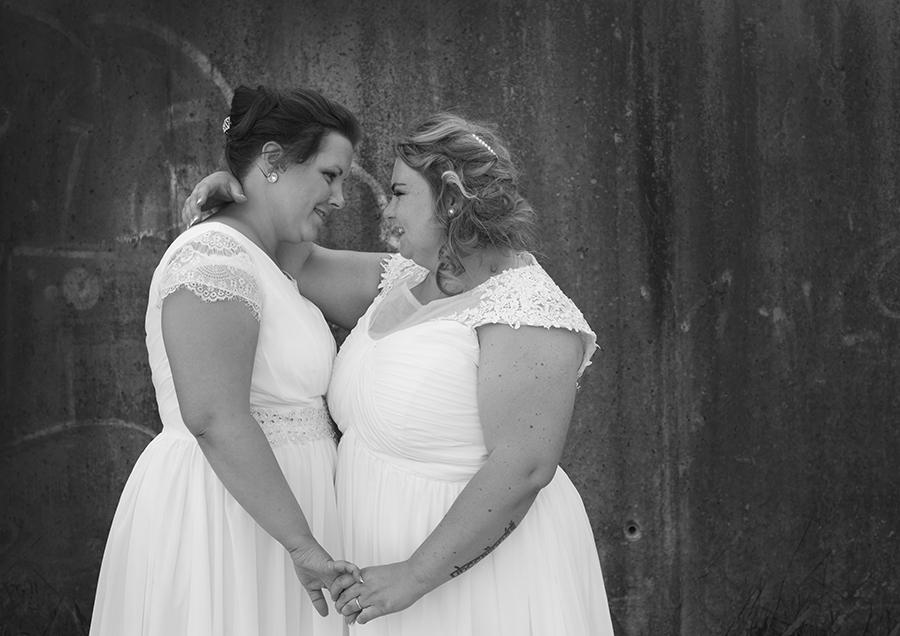 Bryllupsfotografering på Flateby