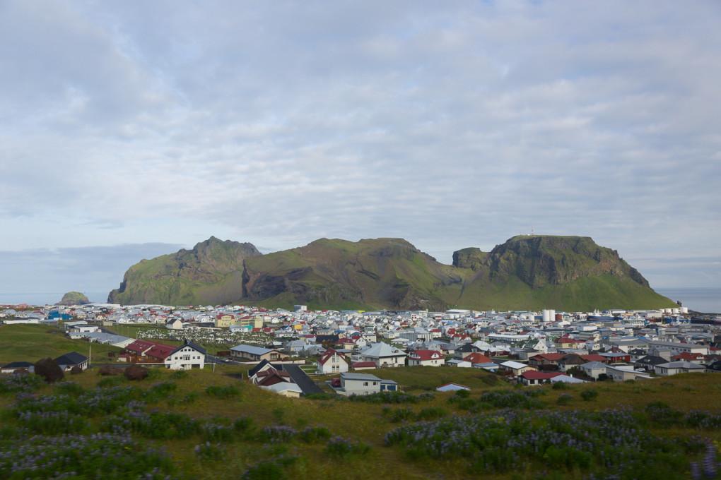 Fototur til Island. Utsikt overHeimaey