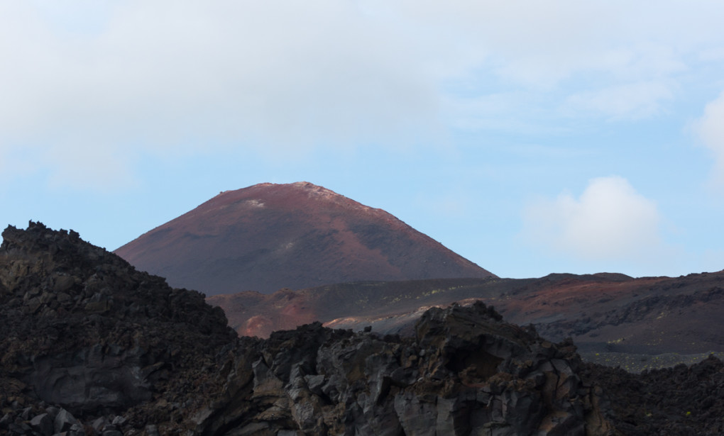 Fototur til Island. Vulkanen Eldfell på Heimaey, Vestmannaeyjar