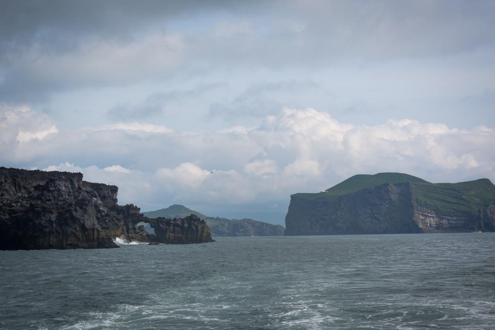 Fototur til Island. Heimaey sett fravannet