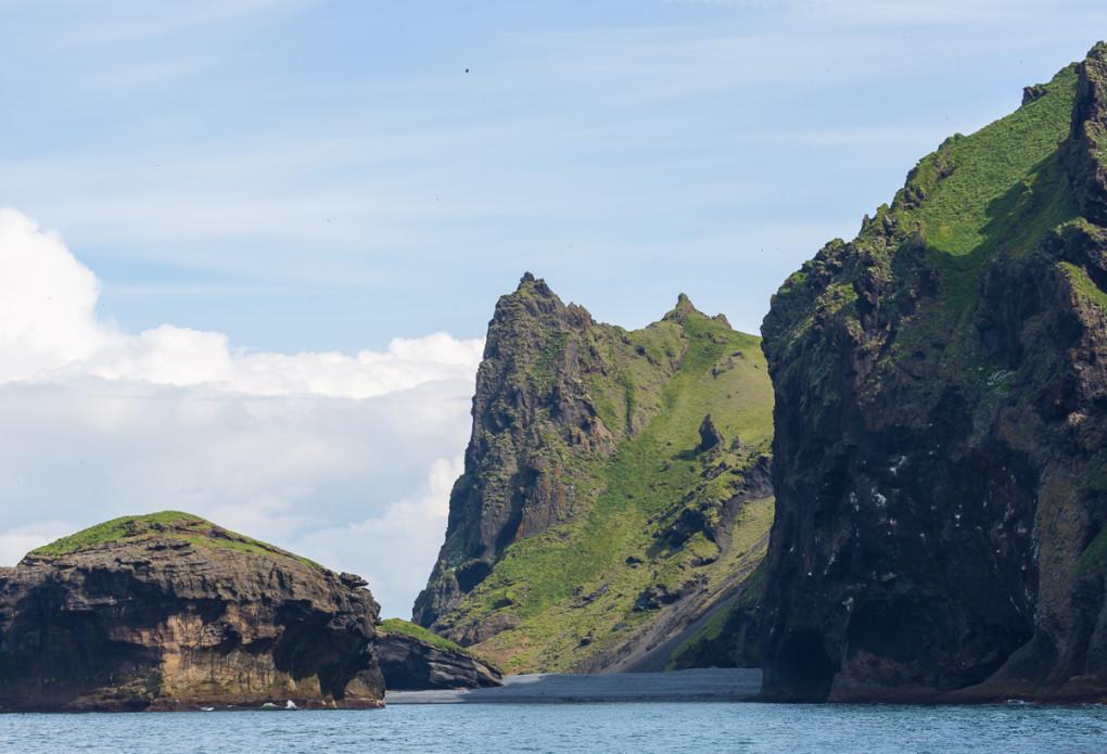 Fototur til Island. Heimaey sett fra vannet