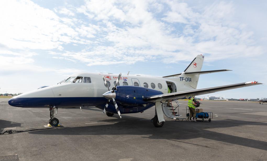 Jetstream 32 turbo jets med 19 seter