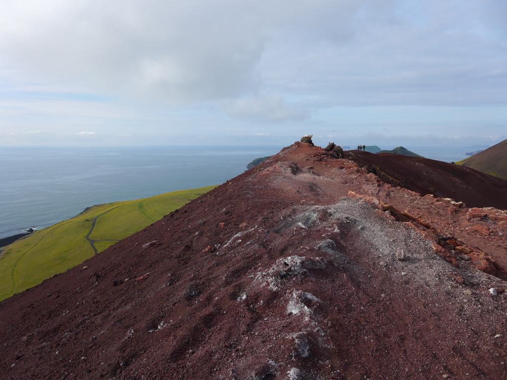 Fototur til Island. Eldfell på Heimaey, Vestmannaeyjar