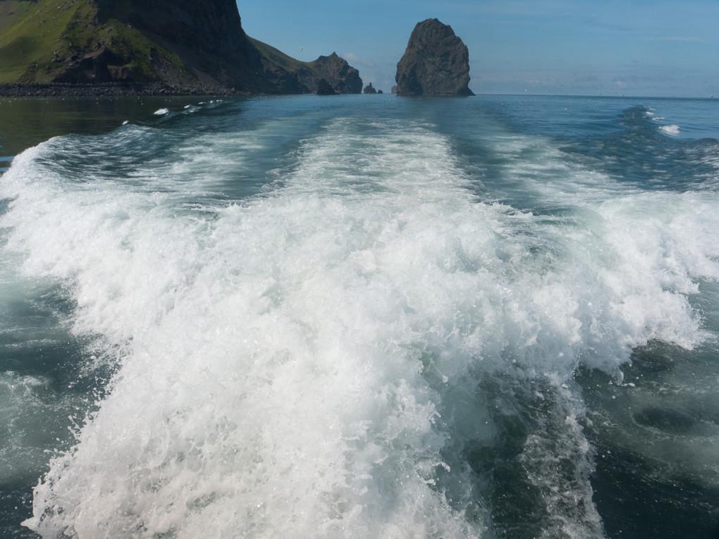 Fototur til Island. Havet utenfor Heimaey
